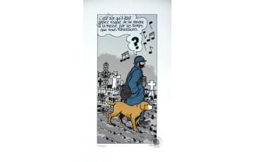 Sérigraphie N°/Signée 'Putain de guerre, le dernier assaut' - Jacques Tardi