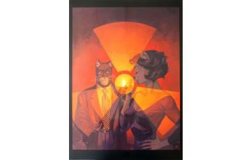 Affiche d'art 'Blacksad, L'âme rouge' - Juanjo Guarnido