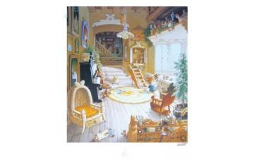 Affiche d'art 'La famille passiflore 7' - Loïc Jouannigot