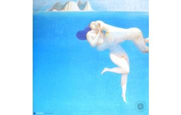 Affiche d'art 'Nell'acqua I' - Lorenzo Mattotti
