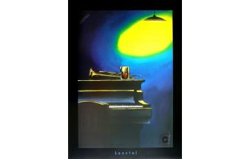 Affiche d'art 'Piano' - Loustal