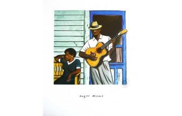 Affiche d'art 'Sugar mama' - Loustal