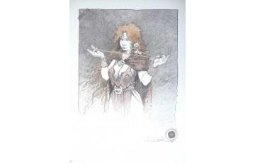 Affiche d'art 'La quête de l'oiseau du temps, Pélisse 2' - Régis Loisel