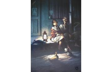 Affiche d'art 'Magasin général, Confessions' - Régis Loisel / Jean-Louis Tripp