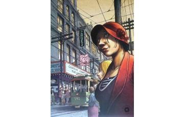 Affiche d'art 'Magasin général, Montreal' - Régis Loisel / Jean-Louis Tripp