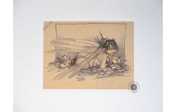 Affiche d'art 'Peter Pan, Fée N°3' - Régis Loisel