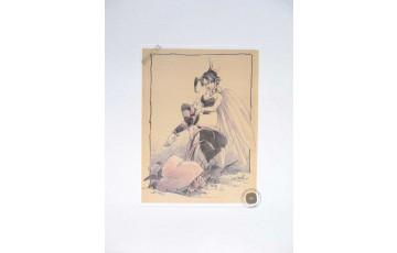 Affiche d'art 'Peter Pan, Fée N°8' - Régis Loisel