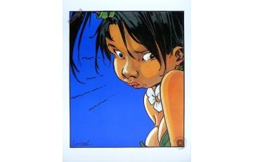 Affiche d'art 'Peter Pan, Jalousie' - Régis Loisel