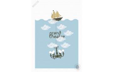 Sérigraphie N°/Signée 'Grand Théâtre' - Zig