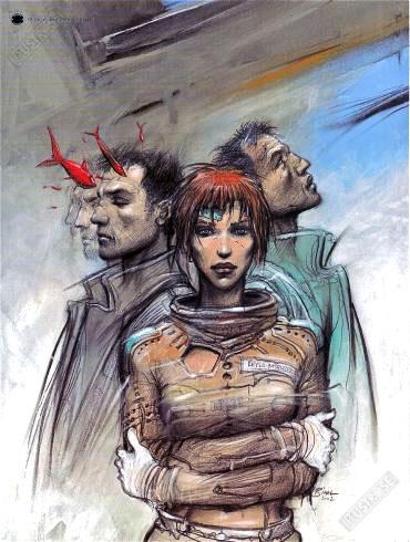 Affiche d'art BD Enki Bilal '32 Décembre' - Illustrose