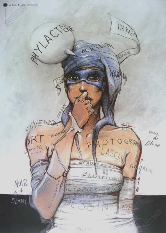 enki-bilal-affiche-poster-bd-art-deco-bande-dessinee