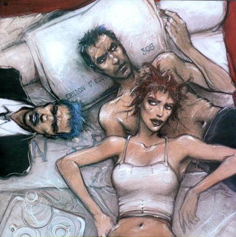 Affiche d'art BD Enki Bilal '... Il est où ?' - Illustrose