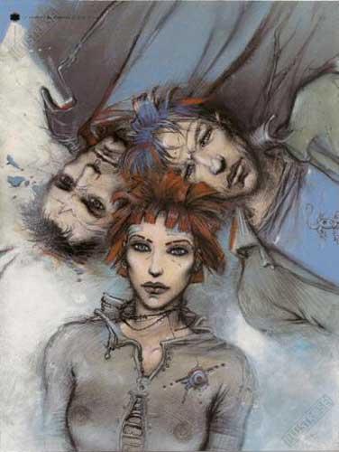 Affiche d'art BD Enki Bilal 'Le sommeil du monstre' - Illustrose