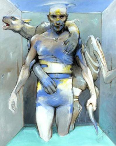 Affiche d'art BD Enki Bilal 'Vertébrati II' - Illustrose