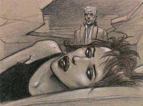 Affiche d'art BD Enki Bilal 'Julia ne dormait pas' - Illustrose