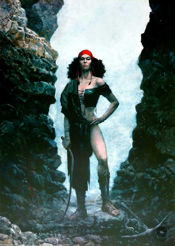 Affiche BD Thorgal de Grzegorz Rosinski 'Kriss de Valnor' - Illustrose