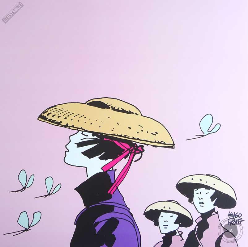 Affiche BD Corto Maltese de Hugo Pratt 'Les femmes' - Illustrose