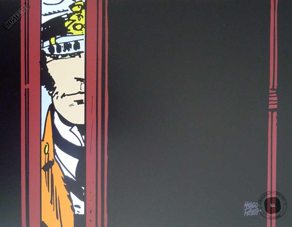 Affiche BD Corto Maltese de Hugo Pratt 'Aventures' - Illustrose