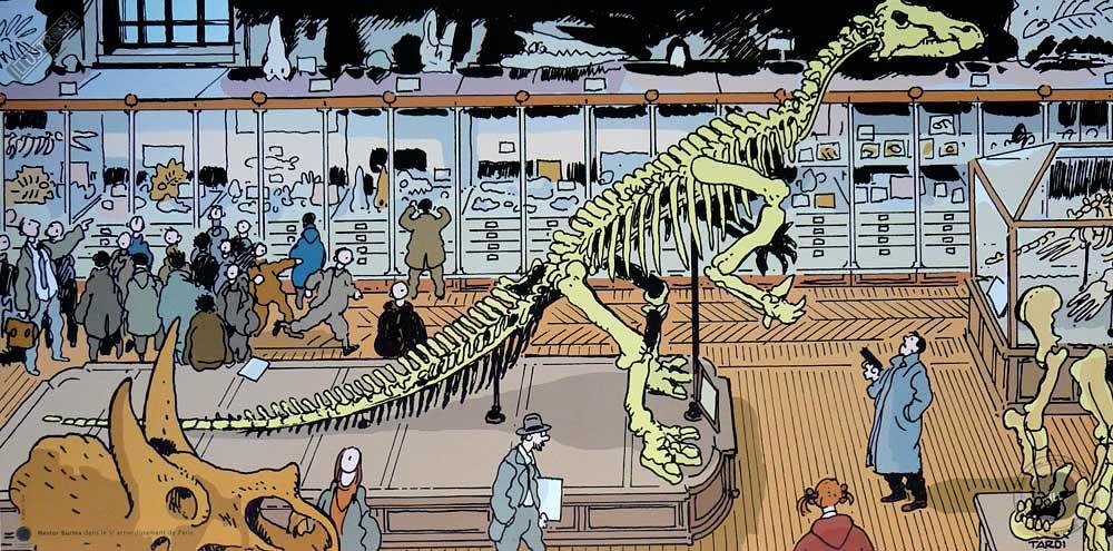 Affiche BD Nestor Burma de Tardi '5è arr. de Paris' - Illustrose