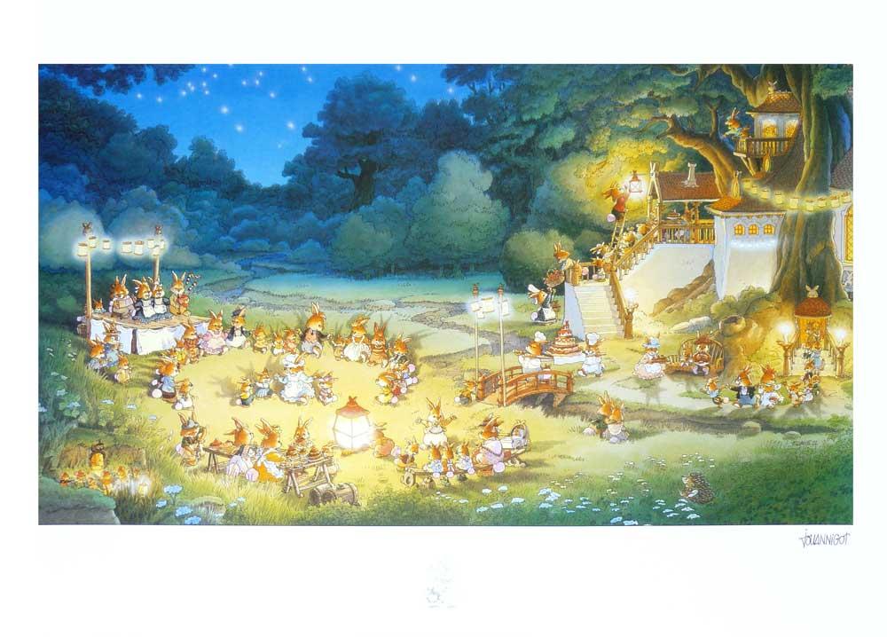 Affiche jeunesse Loïc Jouannigot 'La famille passiflore 3' - Illustrose