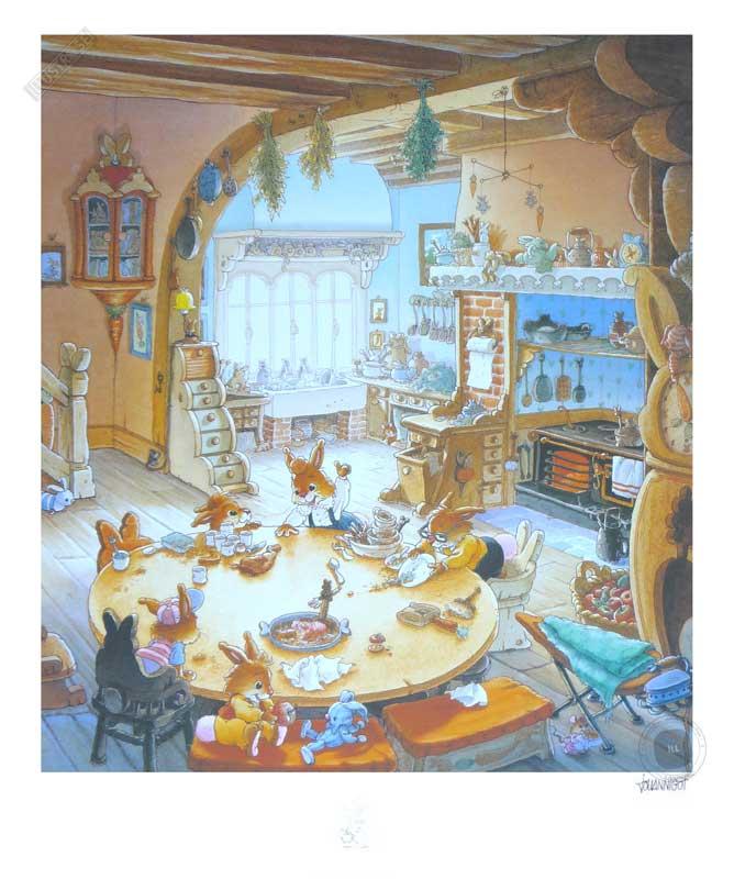 Affiche jeunesse Loïc Jouannigot 'La famille passiflore 5' - Illustrose