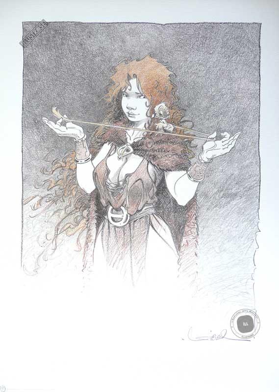 Affiche bd La quête de l'oiseau du temps, R.Loisel 'Pélisse 2' - Illustrose
