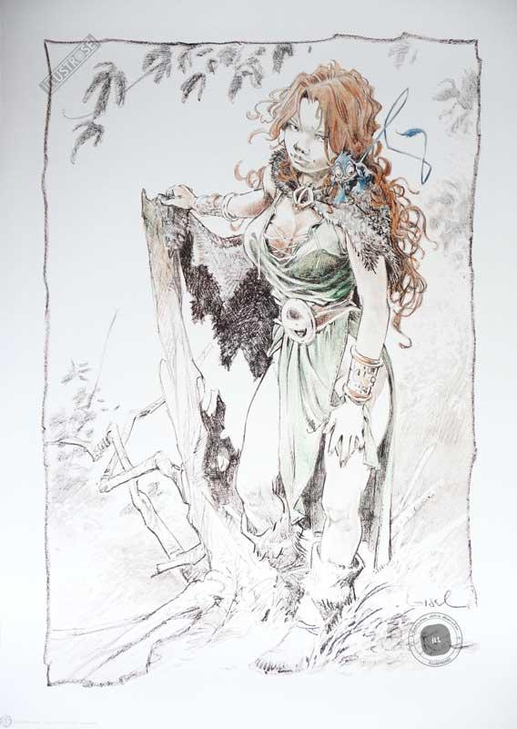 Affiche bd La quête de l'oiseau du temps, R.Loisel 'Pélisse 3' - Illustrose