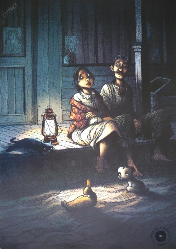 Affiche BD Magasin général de R.Loisel 'Confessions' - Illustrose