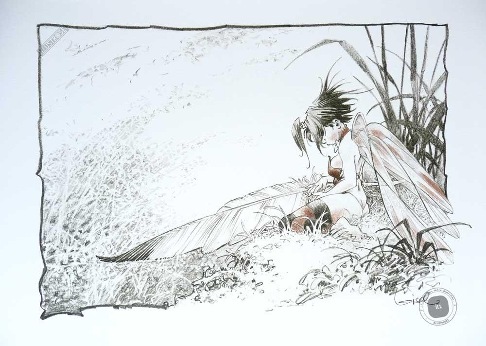Affiche bd Peter Pan, Loisel 'Clochette, autre songe' - Illustrose
