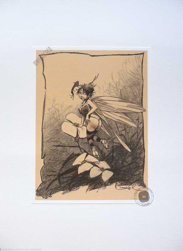 Affiche BD Peter Pan de R.Loisel 'Fée N°6' - Illustrose