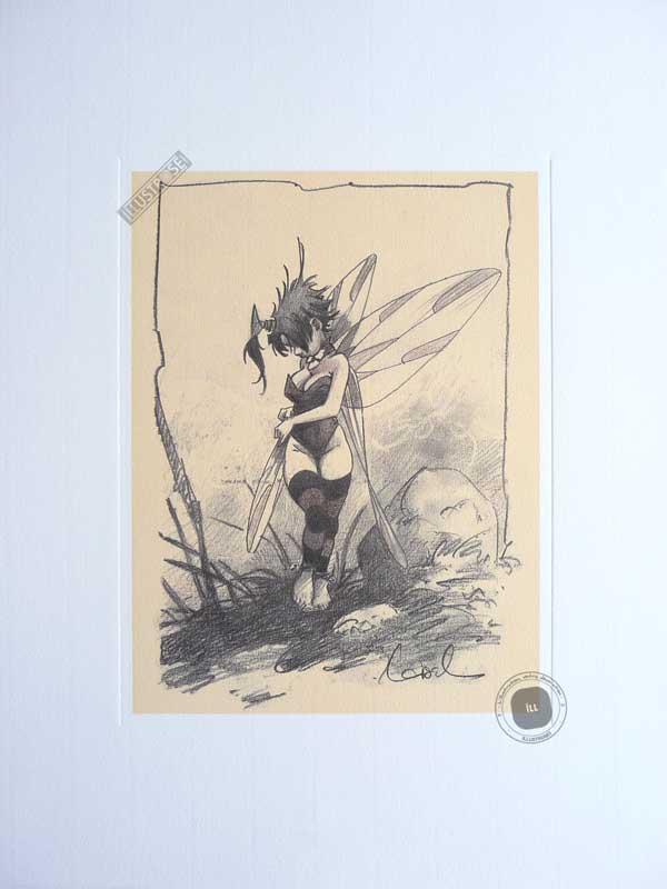 Affiche BD Peter Pan de R.Loisel 'Fée N°7' - Illustrose