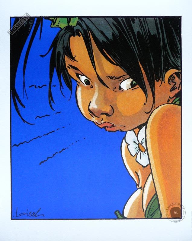 Affiche BD Peter Pan de R.Loisel 'Jalousie' - Illustrose