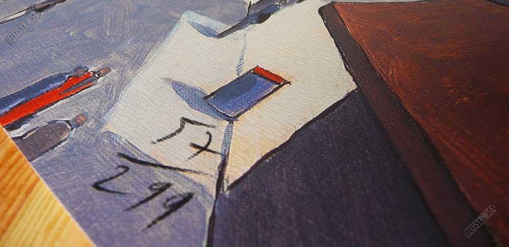 Affiche illustration signée et numérotée New York 6424 Park François Avril - Illustrose