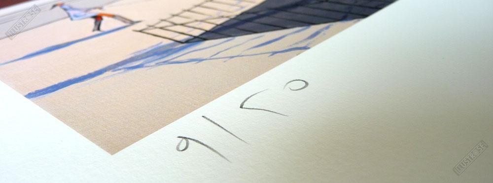 Estampe Numérotée et Signée par François Avril - Illustrose