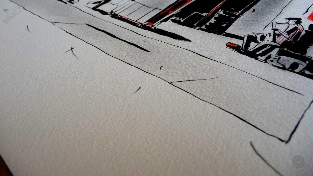 Estampe encadrée, signée et numérotée Harmony François Avril - Illustrose