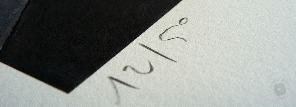 Estampe encadrée, signée et numérotée Kagurazaka François Avril - Illustrose