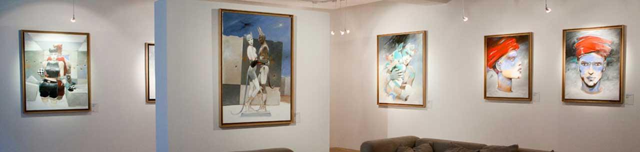 Peintures acryliques Enki Bilal Oxymore Artcurail - Illustrose