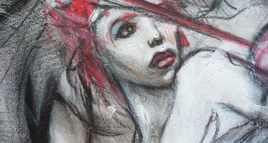 Affiche d'art poster BD Léché à l'aveugle le sommeil du Monstre de Enki Bilal - Illustrose