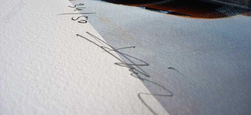 Estampe Mécanhumanimal Signée et Numérotée par Enki Bilal - Illustrose