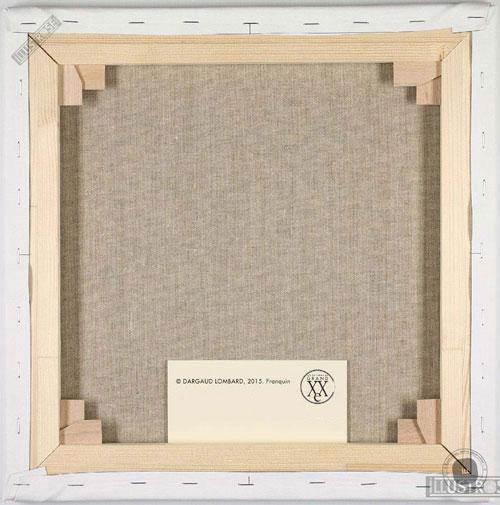 Toile de collection para BD éditions du grand vingitième déco 'Gaston Lagaffe - Promenade' de Franquin - Illustrose