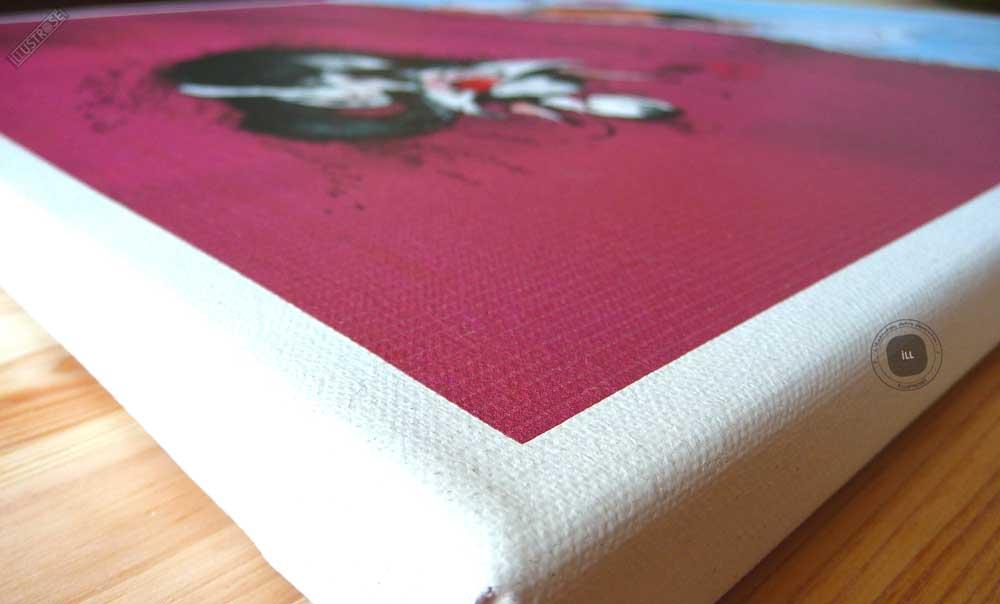 Toile de collection para BD éditions du grand vingitième déco 'Gaston Lagaffe - ZZZ...RRR' de Franquin - Illustrose