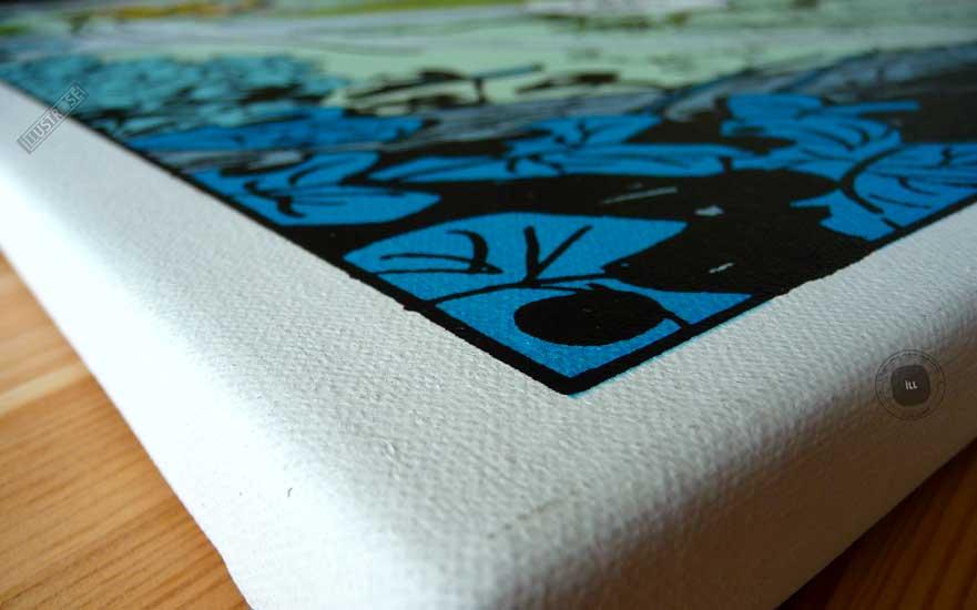 Toile de collection para BD éditions du grand vingitième déco 'Le Marsupilami - La balançoire' de Franquin - Illustrose