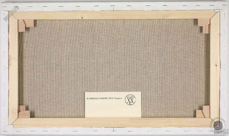 Toile de collection para BD éditions du grand vingitième déco 'Le Marsupilami - Promenade main dans la main' de Franquin - Illustrose