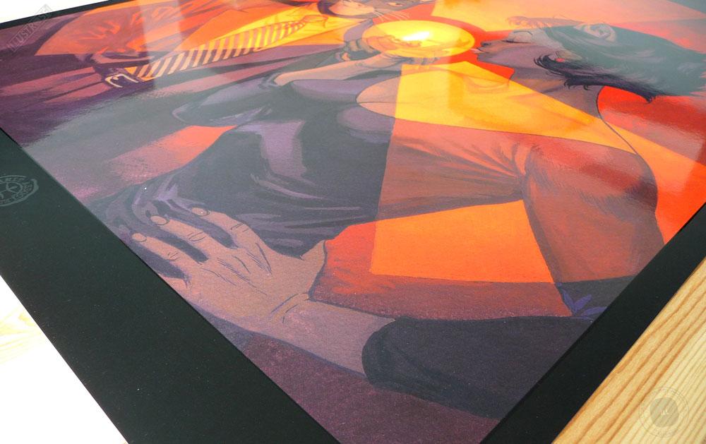 Affiche BD encadrée Blacksad 'L'âme rouge' Juanjo Guarnido - Illustrose