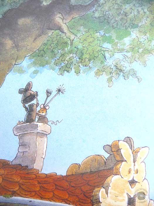Affiche deco illustration jeunesse La famille Passiflore 1 de Loïc Jouannigot - Illustrose