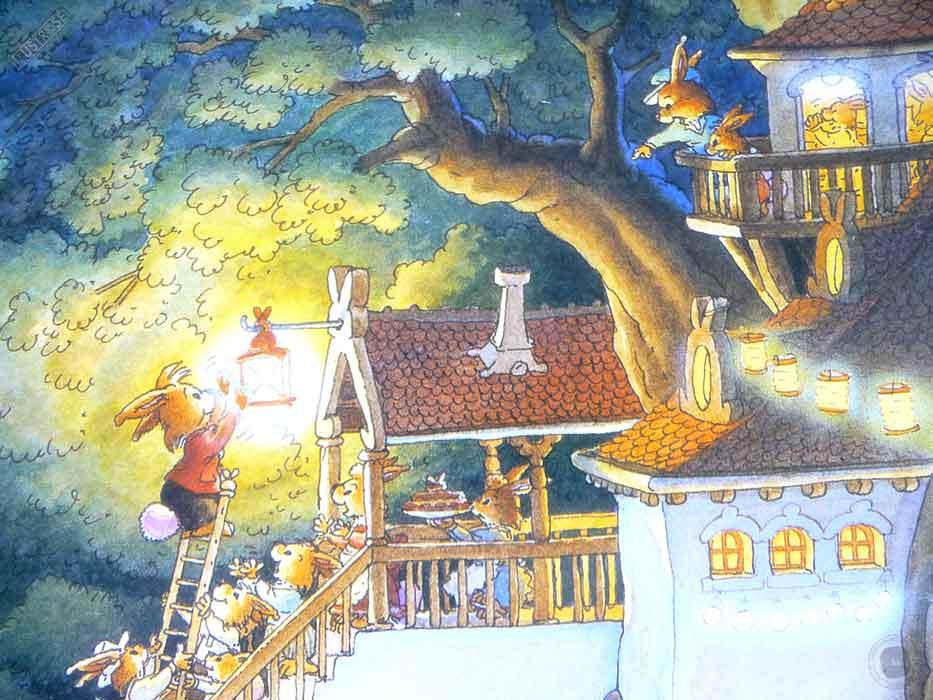 Affiche deco illustration jeunesse La famille Passiflore 3 de Loïc Jouannigot - Illustrose