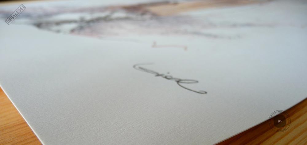 Affiche édition d'art BD 'La quête de l'oiseau du temps, Pélisse 5' de Régis Loisel - Illustrose