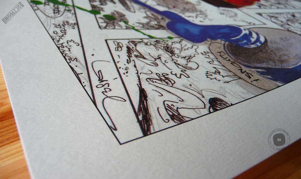 Affiche édition d'art BD Peter Pan 'Clochette 3' de Régis Loisel - Illustrose