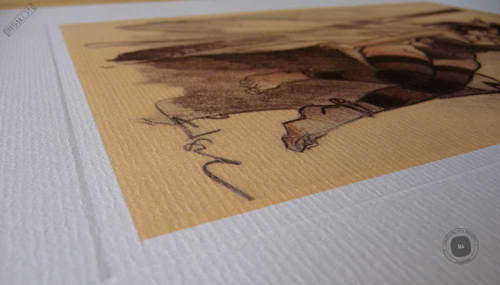 Affiche édition d'art BD Peter Pan 'Clochette, fée n°1' de Régis Loisel - Illustrose