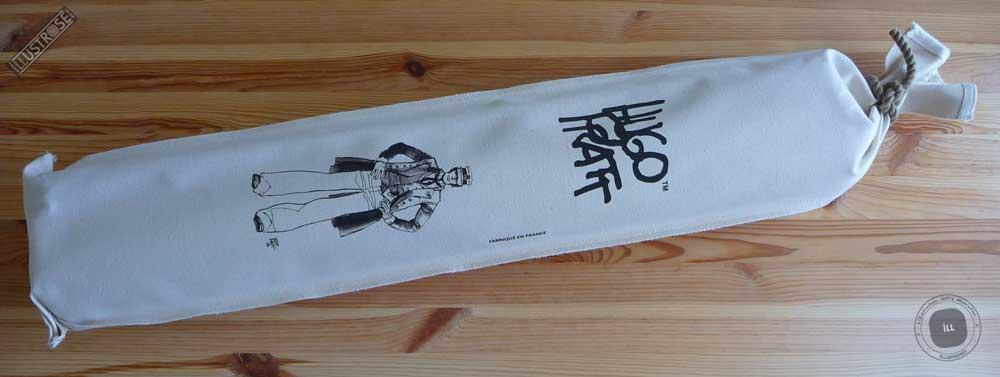 Toile sérigraphiée déco BD Corto Maltese 'Debout' de Hugo Pratt - Illustrose